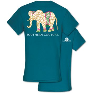 Southern Couture Classic Gypsy Elephant T-Shirt