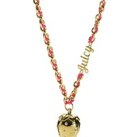 Strawberry Pendant Necklace by Juicy Couture