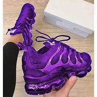 Nike Air Max Vapormax Plus Fashion Women Casual Sport Running Shoes Sneakers Purple