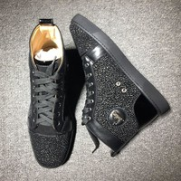 Christian Louboutin CL Style #2109 Sneakers Fashion Shoes Best Deal Online