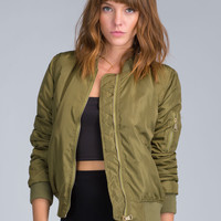 The Bomber Dot Com Puffy Jacket GoJane.com
