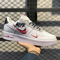 Nike AF1 Air Force One Men's and women's casual low-top breathable sneakers sports shoes
