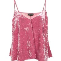 Velvet Swing Pink Cami Top - Tops - Clothing