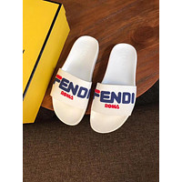 Fendi Women Men the summer FF Letter slippers