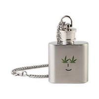 Pot Head Emote Flask Necklace> The Pot Head Emote> 420 Gear Stop
