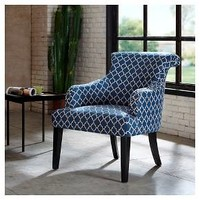 Alexis Rollback Accent Chair - Navy : Target