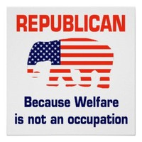 Funny Republican - Welfare Hat from Zazzle.com