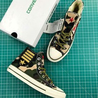Converse Chuck Taylor All Star 1970s Camo Mid Sneakers - Best Online Sale