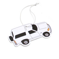 40s & Shorties X Hall of Fame Bronco Air Freshener Orange Scent In White