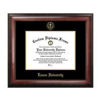 Campus Images Lamar University Gold Embossed Diploma Frame