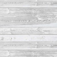 Gray White Grunge Wood Floor Backdrop - 6312