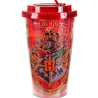 Harry Potter Hogwarts Flip Straw Acrylic Travel Cup