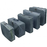 Easy Travel Quintuple Travel Luggage Packing Organizer Bag Set (5 Pcs)