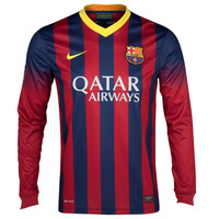 Barcelona Jersey Long Sleeve 2013-2014