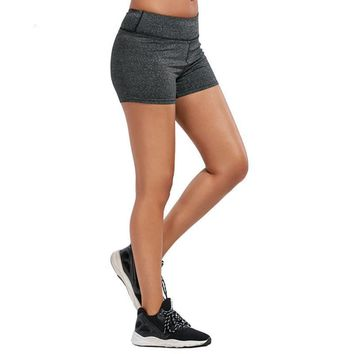 High Elastic Workout Shorts