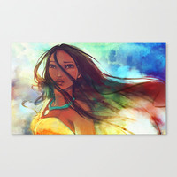 The Wind... Stretched Canvas by Alice X. Zhang