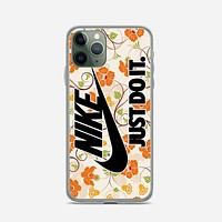 Flowers Nike Just Do It iPhone 11 Pro Case