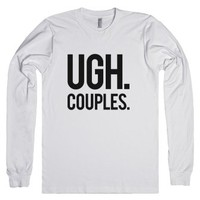 Couples-Unisex White T-Shirt