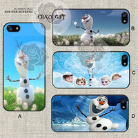Disney frozen and jack frost iPhone 5s case, iPhone 5C Case iPhone 5 case, iPhone 4 Case Samsung Galaxy S4 case, Galaxy S3 case, ifg-000190