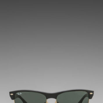 Ray-Ban Oversized Clubmaster in Brown