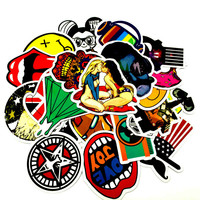 Mixed 100 PCS Cute Animal Sticker Luggage Skateboard Doodle Vinyl Decals Car Styling Laptop Bike Toy Waterproof DIY JDM Stickers