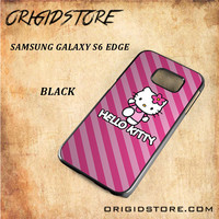 hello kitty For Samsung Galaxy S6 Edge - Gift Present Multiple Choice