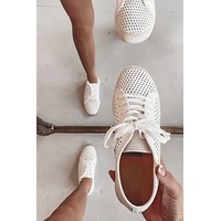 On The Streets White Sneakers
