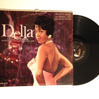 OCTOBER SALE LP Album Della Reese Dell Vinyl Record 1960 The Lady Is A Tramp Jazz Music Blue Skies