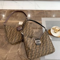 FENDI FF Retro Handbag Shoulder Bag