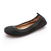 Yosi Samra Samara Scaled Haircalf Flats