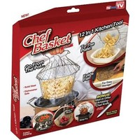 Chef Basket, 12 in 1  Deluxe, with Bonus Knife Offer, As seen on TV