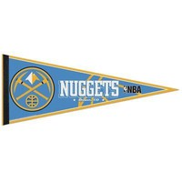 """Licensed Denver Nuggets Official NBA 12"""" x 29"""" Pennant Nuggets by Wincraft 638328 KO_19_1"""