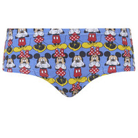 Mickey and Minnie Boypants - Blue