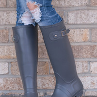Hunter Inspired Rain Boots
