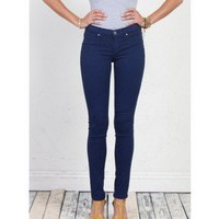 Henry & Belle Coated Super Skinny Ankle - Royal Navy - The Blues Jean Bar, the Best Place to Buy Jeans!