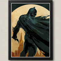 Batman Dark Knight Poster / Print High Quality 170gr Coated Paper (Special Design)