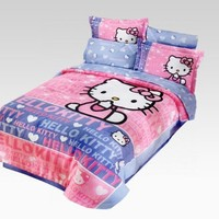 shop.sanrio.com - Hello Kitty Bedding Sets: Sitting