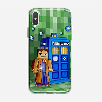 Tardis Doctor Who Little Prince iPhone XS Max Case