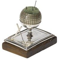 Golf Pin Cushion Trophy, Circa 1934