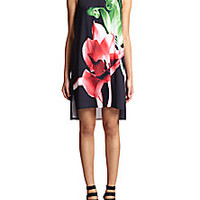Clover Canyon - Floral-Print Shift Dress - Saks Fifth Avenue Mobile