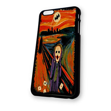 Batman Joker Van Gogh Munch iPhone 6 case
