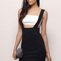 Janice Suspender Pencil Skirt