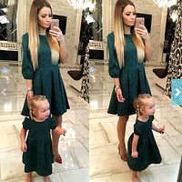 Mother & daughter Matching Outfit dress