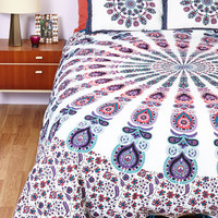 Bohemian Bliss Duvet Cover Set in Purple - Full/Queen | Mod Retro Vintage Decor Accessories | ModCloth.com