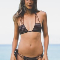 ACACIA Swimwear Secrets Top in Dark Classic