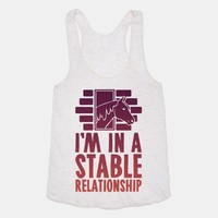 I'm In A Stable Relationship