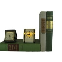 Decorative Books for Display in Green