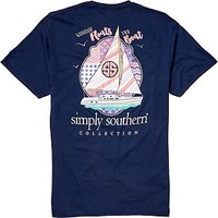 Simply Southern Women's Boat T-Shirt | DICK'S Sporting GoodsProposition 65 warning iconProposition 65 warning icon