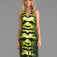 Alexis Claudia Dress in Green