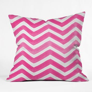Rebecca Allen The Powder Room Throw Pillow